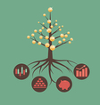 moneytree preview vector image vector image