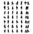 people in the shopping vector image vector image