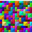 Seamless abstract squares pattern vector image