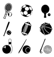 sport items vector image