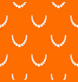 bead pattern seamless vector image vector image