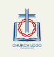 Church logo and christian symbols