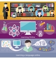 Education online education professional vector image vector image