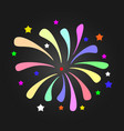 firework background can be use for celebration vector image
