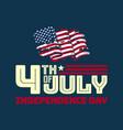 fourth july 4 july wallpaper usa vector image vector image