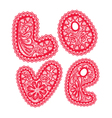 love lace 380 vector image vector image
