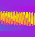 abstract wavy background cover design template vector image