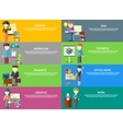 Business Peoples Professions vector image vector image