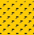 cctv camera pattern vector image vector image