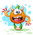 fanny cute crazy cartoon characters vector image