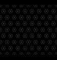 ornamental seamless pattern dark minimalist vector image vector image