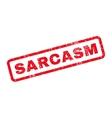 Sarcasm Rubber Stamp