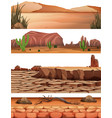 set desert land