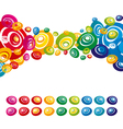 color background vector image