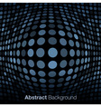 Abstract Blue Gray Technology Background vector image vector image