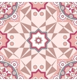 Decorative seamless pattern with round vintage vector image vector image
