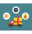 digital marketing shopping buy vector image vector image