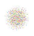 festive confetti celebration stars joyous confet vector image vector image