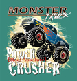 power crusher vector image vector image
