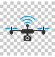 Radio Camera Airdrone Icon vector image vector image