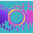slime abstract purple and pink liquid background vector image