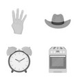 trade textiles hygiene and other monochrome icon vector image vector image