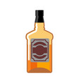 whiskey bottle isolated drink scotch tequila on vector image vector image