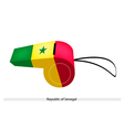 A Whistle of The Republic of Senegal vector image
