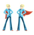 Confident business woman vector image vector image