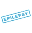 Epilepsy Rubber Stamp vector image