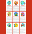 handcrafted gifts made by child girl christmas vector image vector image