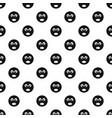 girl smile pattern seamless vector image
