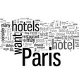 how to choose best hotel and best vector image vector image