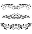 Ornamental divider decorative filigree design
