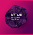 printoriginal sale poster for discount abstract vector image vector image