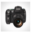 vector slr camera xxl icon vector image vector image