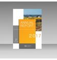 Annual report Leaflet Brochure Flyer template A4 vector image vector image
