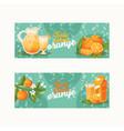 citrus fresh orange fruit backdrop tropical vector image