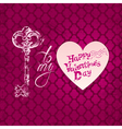 key to my heart 2 380 vector image vector image