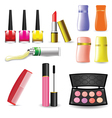 Makeup Cosmetic Product vector image
