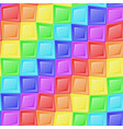 rainbow mosaic pattern vector image
