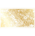 baghdad iraq city map in retro style in golden vector image