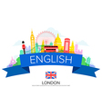 England london Travel vector image