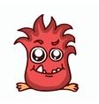 Fire monster kids T-shirt design vector image vector image