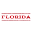 Florida Watermark Stamp vector image vector image
