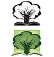 Knowledge tree vector image vector image