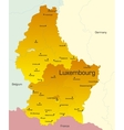 Luxembourg country vector image