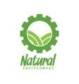 natural environment logo design inspiration vector image vector image