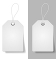 White price tags vector image