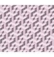 3d isometric cube pattern vector image